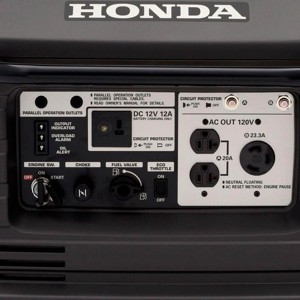 Best 30 Amp Inverter Generator Honda EU3000iS 4