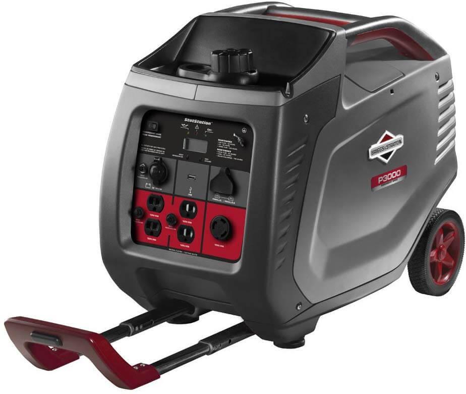 Best 30 Amp Portable Generator Briggs Stratton P3000 Generator 7