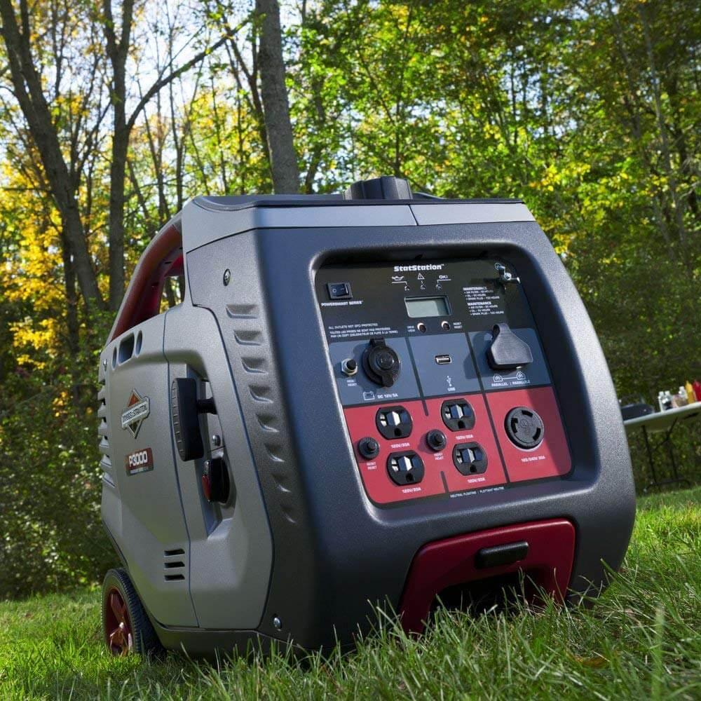 Best 30 Amp Portable Generator Briggs Stratton P3000 Generator 9