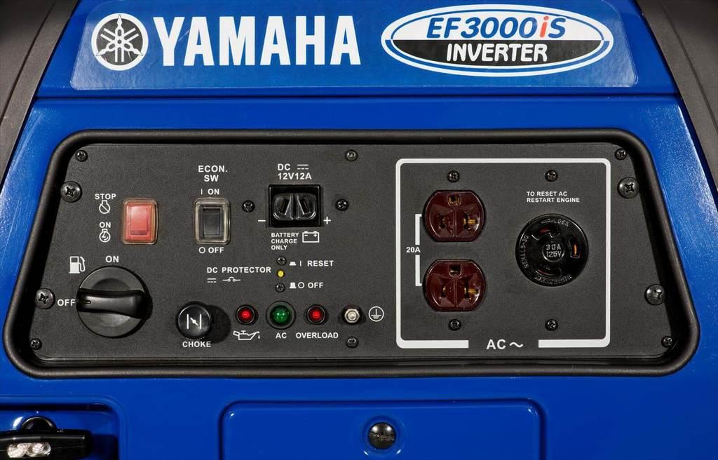 Best 30 Amp Quietest Generator Yamaha EF3000iS 4