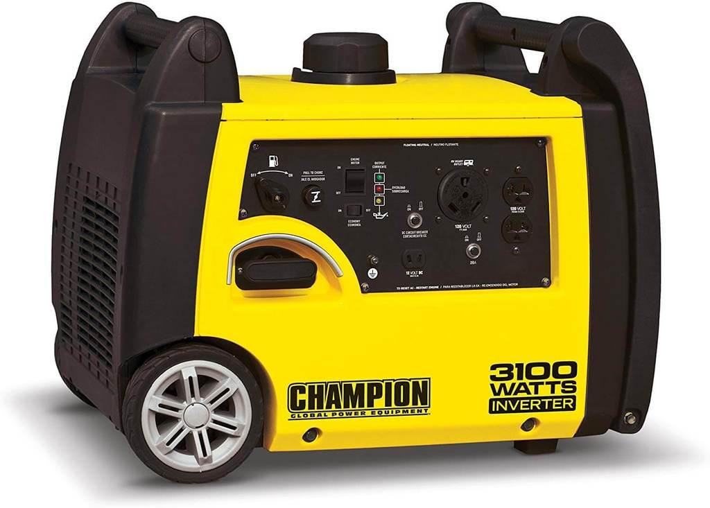 Best Budget 30 Amp Inverter Generator Champion 3100 Watt Inverter Generator 1