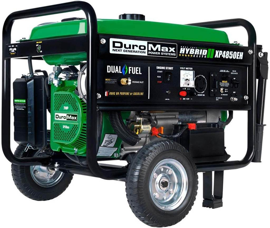 Best Dual Fuel 30A Amp Generator Duromax XP4850EH 1