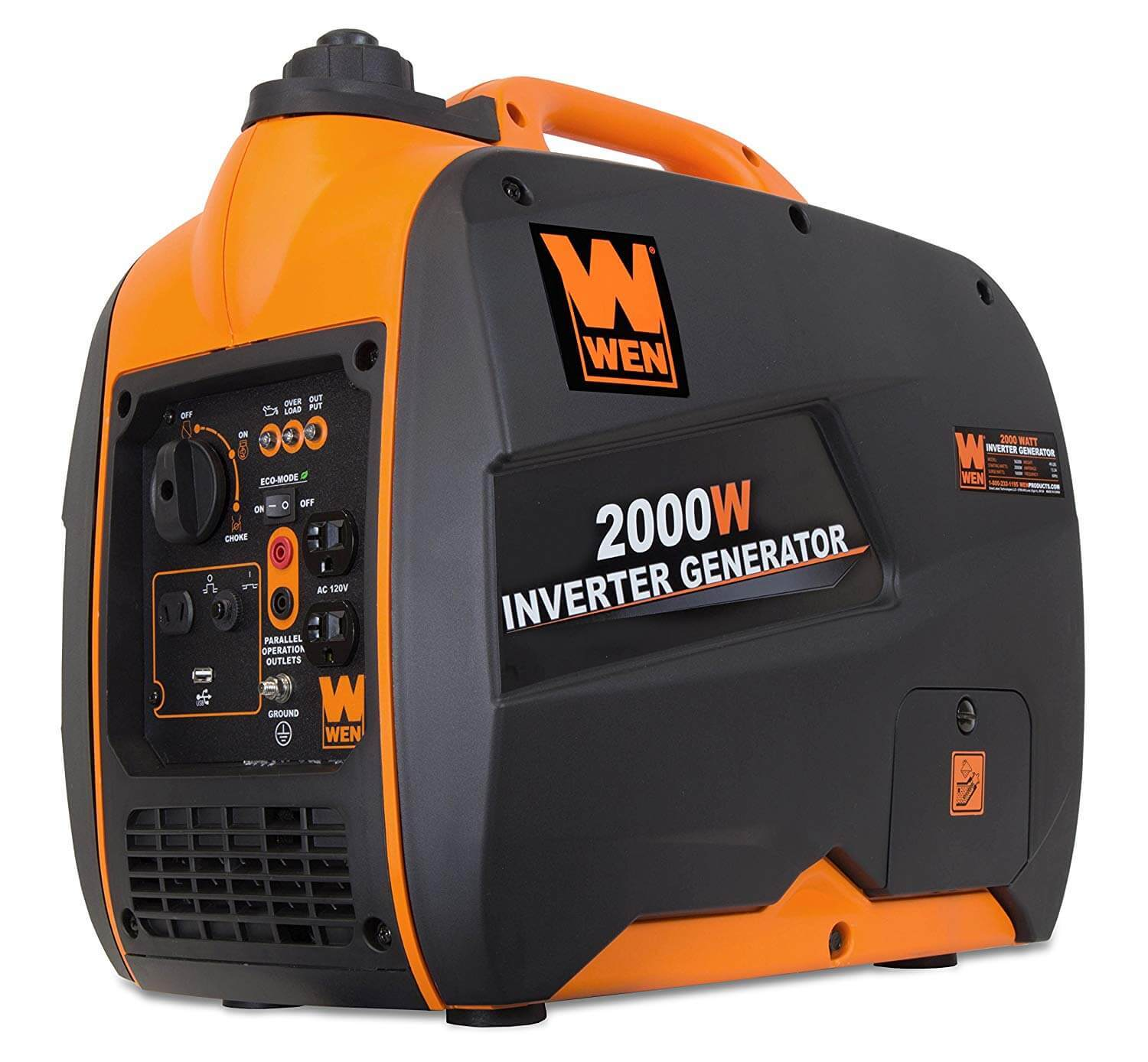 WEN 56200i Super Quiet Portable Generator Review 1