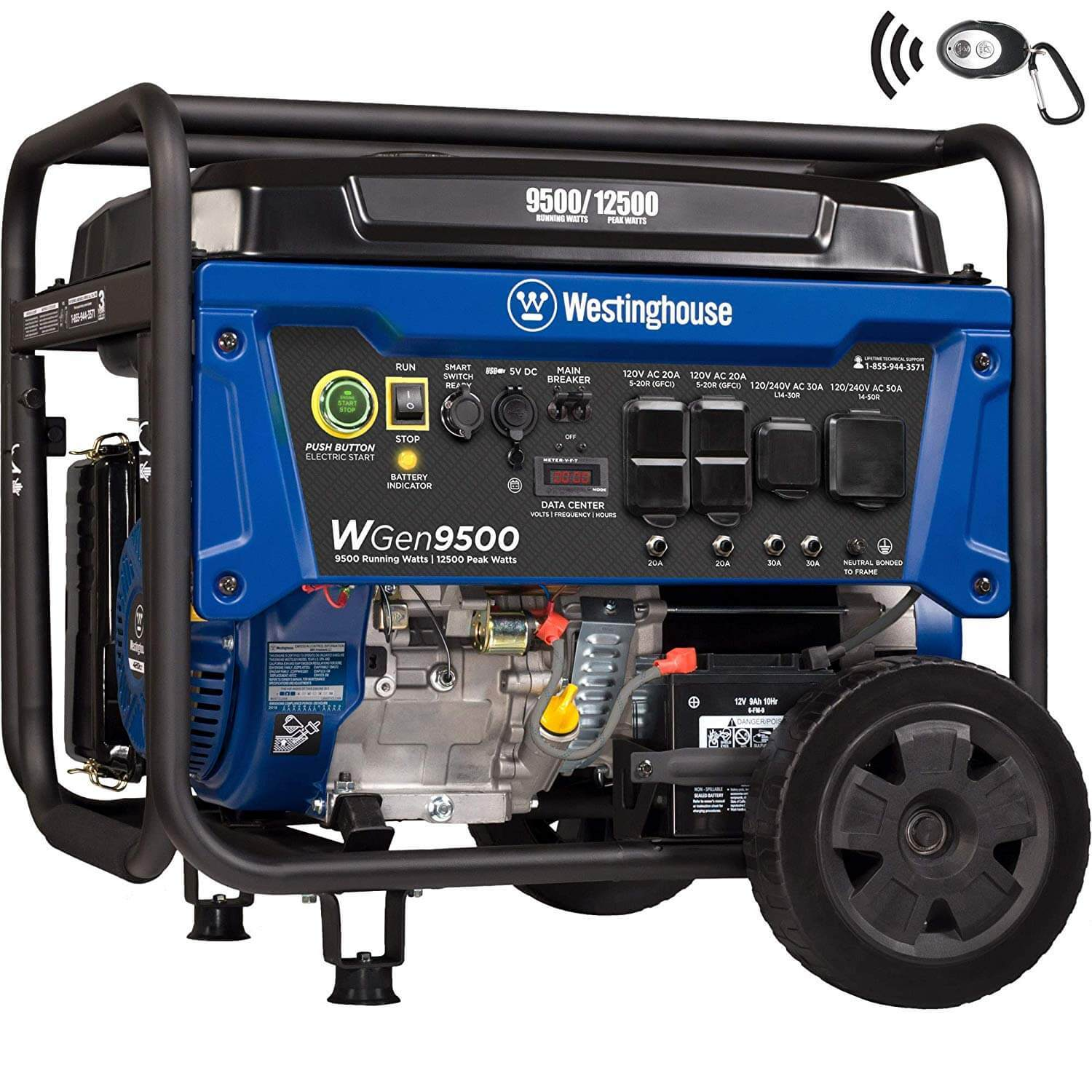Westinghouse WGen9500 Heavy Duty Portable Generator Review 1